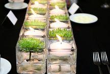 Bordpynting / Pynting av bord enten det er til hverdags eller fest