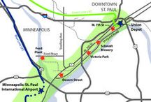Riverview Corridor Study / The Riverview Corridor is a transportation corridor extending from Union Depot in Downtown St. Paul to Minneapolis-St. Paul International Airport and the Mall of America. Zan Associates is part of the Pre-Project development study currently being conducted. This study will select a preferred alternative for the corridor that will advance into a more detailed study.