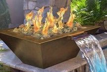 Fire Elements / Examples and ideas for amazing fire elements (bowls, pits, etc.) to add to a poolscape. / by Pool Pricer