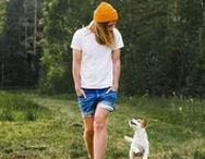 Hiking with Dog / Cute Jackrussel Terrier Yoda adventuring around the North. Camping with Dog Ideas, Dog Adventuring Photography, Doggo and her family. Hiking and Simple living with a dog.