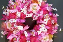 Wreaths / Just a lovely collection of beautiful wreath DIY's plus for sale wreaths for all seasons and occasions. To join this board please follow ALL of our boards and email us at support @ diy-crush . com to be invited!