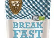 Nos Petit Déjeuners Équilibrés - Alimentation BIO / Muesli, Flocons de Sarrasin, Perles de Maïs, ... Des Produits Bio, une alimentation sans Lactose. Convient à au régime Végétalien et à l'alimentation Paléolithique.