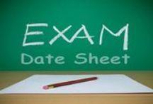 Datesheets & Notifications