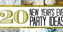 New Year's Eve / DIY ideas & decoration ideas to celebrate the change into a new year. Contributors: please pin 1 a day and repeats every 2 weeks. To join this board please email me at support @ diy-crush . com
