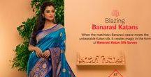 Banarasi Katan Sarees