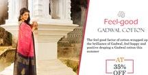 Gadwal Cotton Sarees / While Gadwal is renowned for weaving pure silk and revolutionary silk cotton sarees.