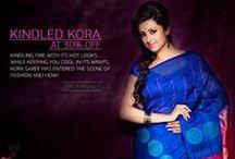 Kora Silk Sarees /