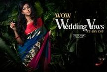 Wedding Sarees / The choicest wedding saree collection, the grand silk sarees are back on Shatika especially curated for weddings!