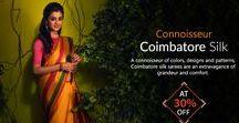 Coimbatore Silk Sarees / Coimbatore silk: Connoisseur of contemporary fashion