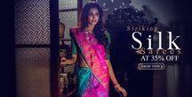 Ikat Silk Saree / Say hello to the stylish silk sarees!