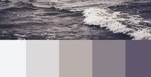 B L O G G I N G : colours / BLogging & home colour schemes