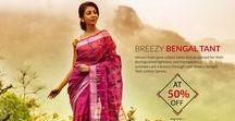 Bengal Tant cotton Sarees