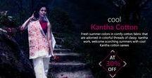 Kantha Cotton sarees