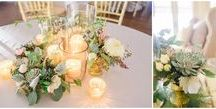 Wedding Decor & Floral Design / Wedding decor and floral design inspiration for wedding centerpieces and wedding accents