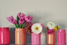 diy jars and vases