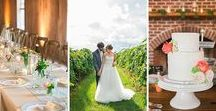 Published Weddings / Featured Charleston weddings and Charlottesville, VA weddings in online and print publications