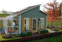 Architecture - Tiny Homes / Tiny home design is the Formula1 of Architecture in housing, respecting nature and other people. Tiny houses, small living, space saving, small living technologies
