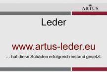 """Leder  www.artus-leder.eu / Unser Grundsatz lautet """"Instandsetzung statt Austausch"""" und stellt die nachhaltigste Form der Reklamationsbehebung dar. Wir verstehen Leder."""