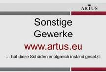 """Sonstige Gewerke www.artus.eu / Unser Grundsatz lautet """"Instandsetzung statt Austausch"""" und stellt die nachhaltigste Form der Reklamationsbehebung dar."""