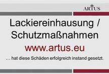Lackiereinhausung / Schutzmaßnahmen  www.artus.eu / Schutzmaßnahmen bei Lackierarbeiten vor Ort beim Kunden. Wir achten auf Ihr Eigentum und verursachen dadurch keine weiteren bzw. neuen Schäden.