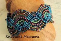 MACRAME (micro macrame) / by Ela Galusha