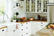 Inspiration: Kitchen / Ideas for a simple and timeless kitchen remodel