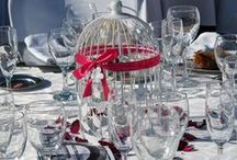 Centros de mesa / Centros de mesa de Bodas. Wedding centerpieces