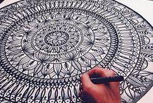 Doodle and Zentangles