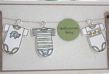 Baby / Karten zur Geburt