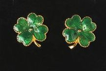 Wearin' o'the Green / Don't get pinched! Wear vintage green for St. Paddy's Day!