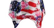 July 4th independence day outfits / Outfits for july 4th, American Independence day, holiday style outfits, summer outfits, women tops, plus size fashion and casual fashion for women