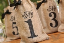 Table Numbers, Holders & Escort Cards / Unique wedding table numbers and escort cards help party guests identify their tables.  Easily guide wedding and party guests to their tables in creative and fun ways!
