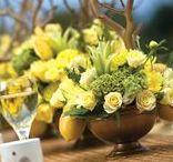 Yellow Wedding Ideas / Yellow Color Wedding Decoration Ideas for Yellow Wedding Theme