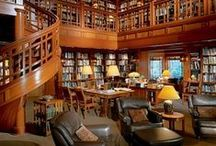 Dream Home: I {Heart} Libraries / by Leah Herbst