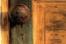 """Portals  / """"In the universe, there are things that are known, and things that are unknown, and in between, there are doors.""""   ~ William Blake / by Charlene Odom"""