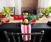 Kwanzaa Party & Decor Ideas / Plan and decorate your week long Kwanzaa celebration with our bright colored decoration ideas and inspiration.