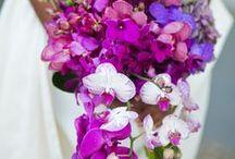 Purple Wedding Ideas / Purple orchid theme wedding color ideas.