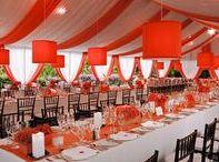 Orange Wedding Ideas / Orange Wedding Ideas for Orange Color Wedding Themes