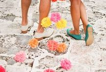 Summer Wedding Decor Ideas / June is the most popular wedding month. Summer weddings are a great excuse for bold colors of yellow and orange. Follow our Summer wedding board for summer ideas.