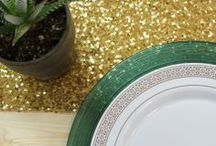 Gold & Silver Party Decoration Ideas / Gold & Silver Party Decoration Ideas