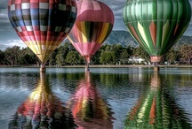 Hot Air Balloons / by Vicky Mcguire