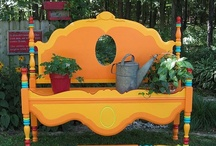 Art Furnishings / Furnishings that have been painted, recovered, adapted.  / by Julianne Terrell