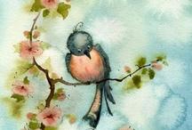 Art Birds / Art that Celebrates Birds of all kinds / by Julianne Terrell