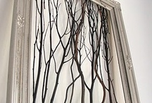 Art Log Branch Twig Driftwood Tree Furniture and Art / Items made from found natural wood / by Julianne Terrell