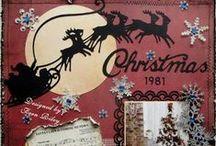 Christmas & Winter Scrapbook Layouts