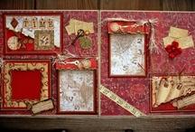 Love & Valentine's Day Scrapbook Layouts