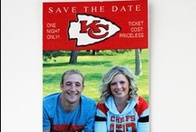Chiefs Wedding / Incorporate your favorite team into your big day!