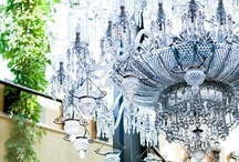 Chandelier and lights