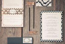 Wedding Invitations & Typography / Wedding Invitations