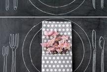 Polka Dots & Stripes Wedding Ideas / Polka Dots & Stripes Wedding Ideas
